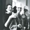 """Diana Vreeland al lavoro con Marisa Berenson durante il periodo di """"Vogue"""", foto di James Karales, tratta dal libro di Lisa Immordino Vreeland The eye has to travel editor Abrams NY"""