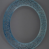 Blue Velvet neckpiece, Drape series, 2007