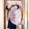 Giusy Calia Attraverso lo Specchio 2011 fotografia analogica-doppia esposizione Collezione M. Trevisan