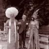 Mariano Fortuny, Ca' Venier dei Leoni. Festa in costume. La marchesa Casati con Giovanni Boldini e un altro ospite, 1913