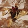 Unicum - Pensando a Fortuny  / Unicum – Thinking about Fortuny, 2010 collana con pendente, oro, quarzo rutilato giallo oro e  tormaline /  pendant, gold, yellow and gold rutilated quartz and tourmaline  Courtesy dell'artista / Courtesy of the artist  Foto Studio Quasar