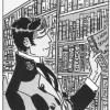 Hugo Pratt, illustrazione da Corte Sconta detta Arcana, 1980