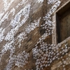 Installazione di Loris Cecchini sulla facciata di Palazzo Fortuny (lato Ramo Orfei)